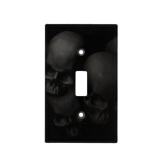 Darkness Falls Light Switch Cover