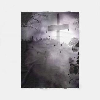Darkness Small Fleece Blanket