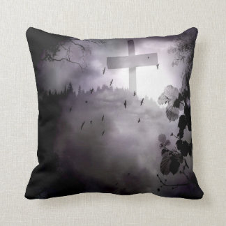 Darkness Square Cotton Pillow