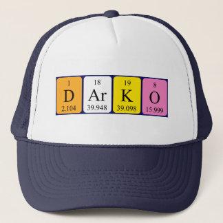 Darko periodic table name hat