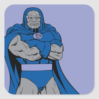 Darkseid Arms Crossed Square Sticker
