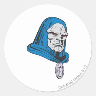 Darkseid Head Shot Sticker