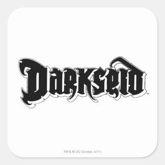 Darkseid Logo 2 Square Stickers