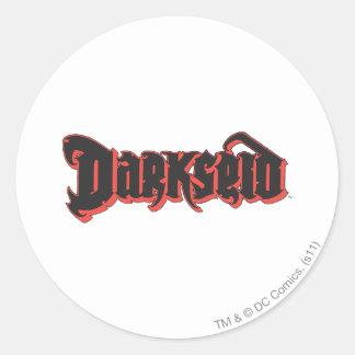 Darkseid Logo Round Sticker