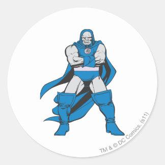 Darkseid Poses Round Sticker