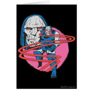 Darkseid Shoots Omega Beams Card