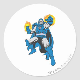 Darkseid & The Omega Force Round Sticker