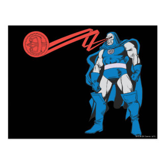 Darkseid Uses Psionic Powers Postcard