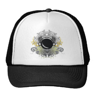Darkside Abstract Wings Mesh Hats