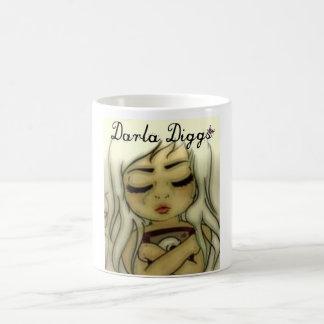 Darla Diggs Classic White Coffee Mug