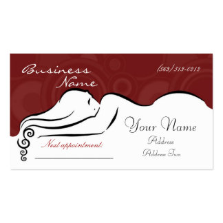 Darla s red Business Cards