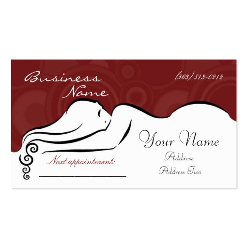 Darla's [red] Business Cards