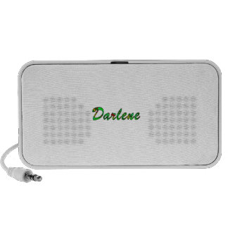 Darlene white doodle speaker