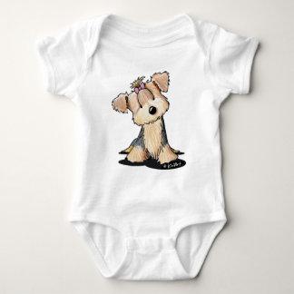 Darlin' May Yorkie Terrier Baby Bodysuit