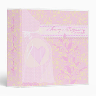 Darling Baby Pregnancy Records Binder
