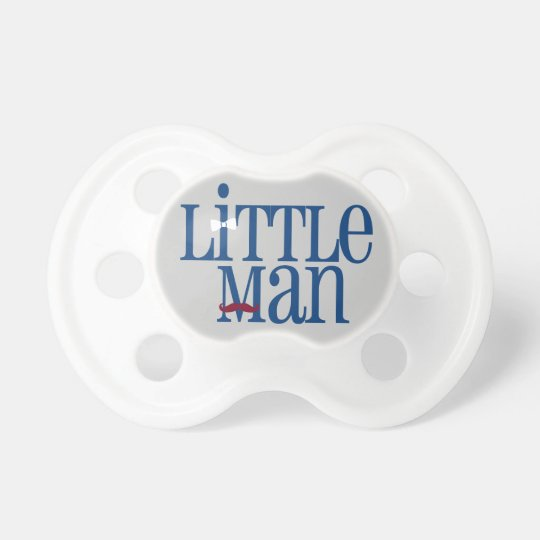 Darling Dapper Little Man Moustache Pacifier