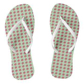 Darling-Dasies_Pink-Lime(c)Multi-Styles_Colors Flip Flops