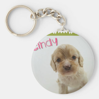 Darling Doodles & Poos Products Basic Round Button Keychain