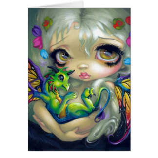"""Darling Dragonling IV"" Greeting Card"
