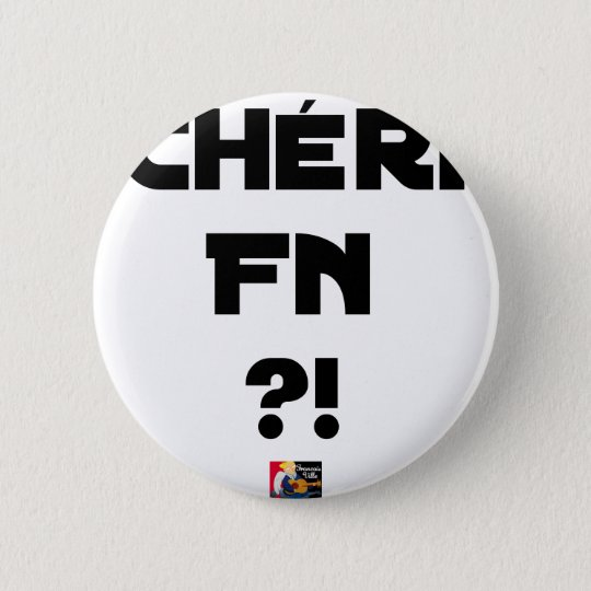 Darling FN?! - Word games - François City 2 Inch Round Button