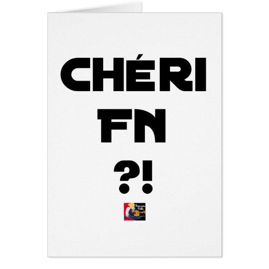 Darling FN?! - Word games - François City Card