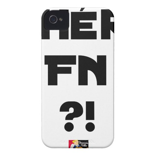 Darling FN?! - Word games - François City Case-Mate iPhone 4 Case