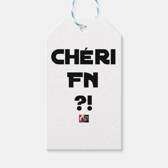 Darling FN?! - Word games - François City Gift Tags