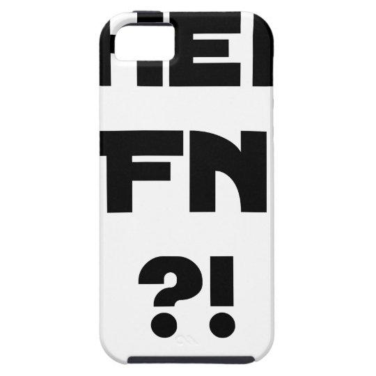 Darling FN?! - Word games - François City iPhone 5 Case