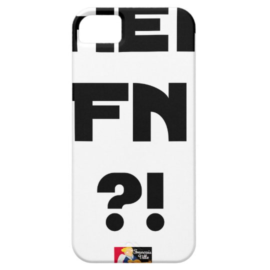 Darling FN?! - Word games - François City iPhone 5 Cases