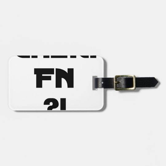 Darling FN?! - Word games - François City Luggage Tag