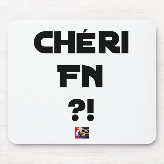 Darling FN?! - Word games - François City Mouse Pad
