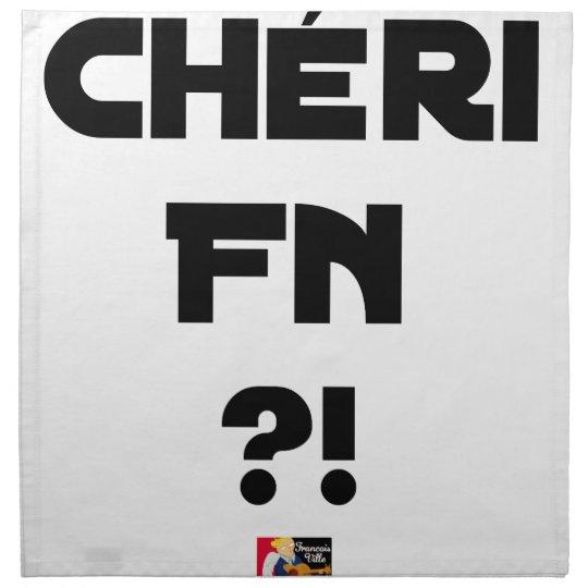 Darling FN?! - Word games - François City Napkin