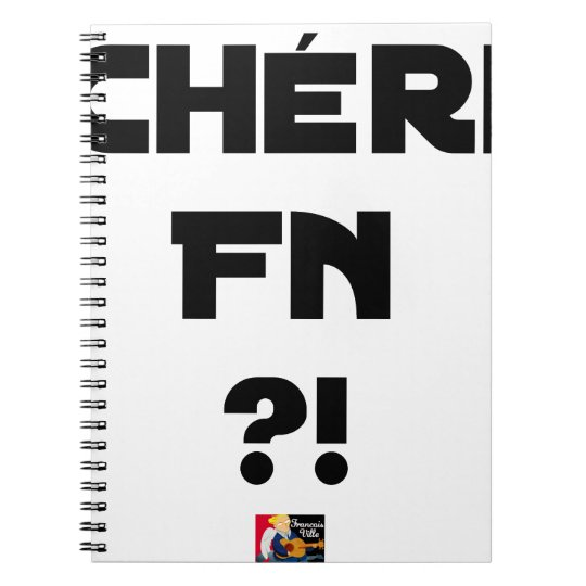 Darling FN?! - Word games - François City Notebooks