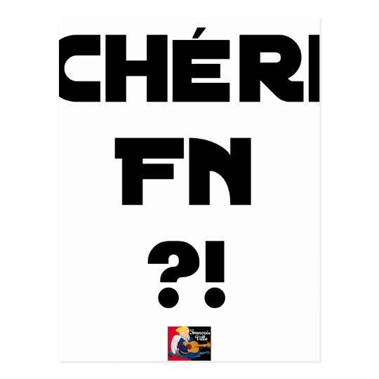 Darling FN?! - Word games - François City Postcard
