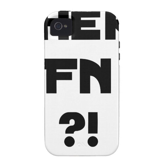 Darling FN?! - Word games - François City Vibe iPhone 4 Cases