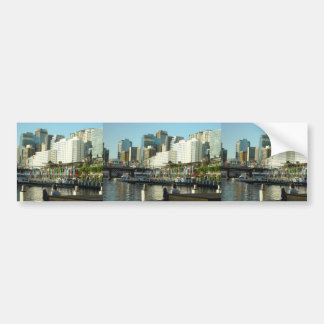 Darling Harbour In Sydney At New South Wales Bumper Sticker