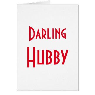 Darling Hubby Card