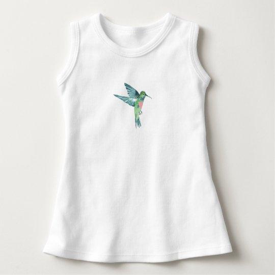 """DARLING HUMMINGBIRD"" DRESS"
