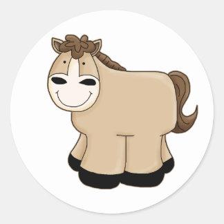 Darling Pony Classic Round Sticker