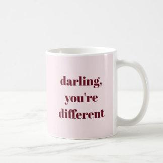 Darling, You're Different Mug
