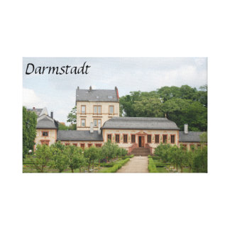 Darmstadt Library Canvas Print