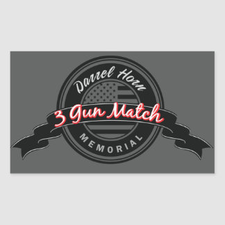 Darrel Horn Memorial Match stickers