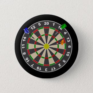 Dart Board 2 Inch Round Button