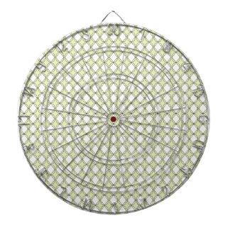 Dart-Board_Cottage-Diamonds(c) Lime_White Dartboard