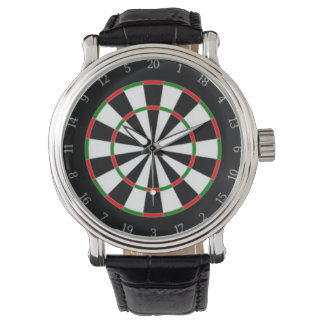 Dart Board Dial Watch