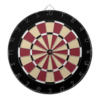 Dart Board in Arizona Hockey Colors