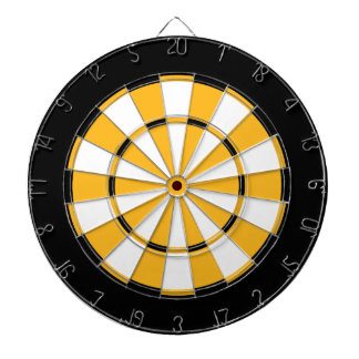 Dart Board in Boston Hockey Colors