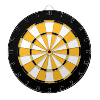 Dart Board in Boston Hockey Colors 2