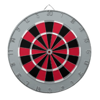 Dart Board in Carolina Hockey Colors
