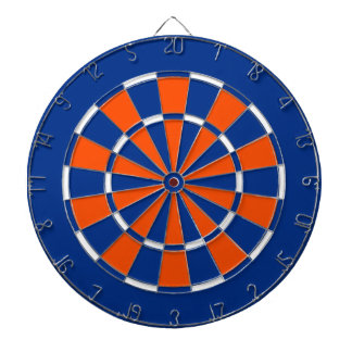 Dart Board in New York Island Hockey Colors
